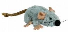 Cattoy Pluche muis met catnip Grijs 7CM