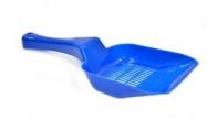 Kattenbakschep fijn Blauw of grijs 28x11CM
