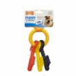 Nylabone flexible puppy teething keys