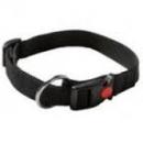 nylon halsband zwart